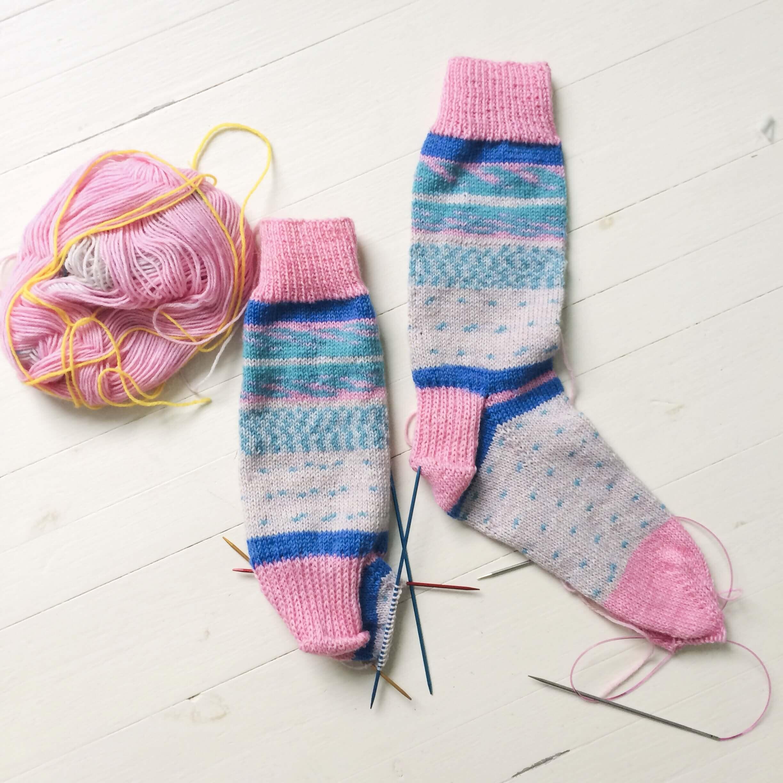 sokken leren breien Den Haag