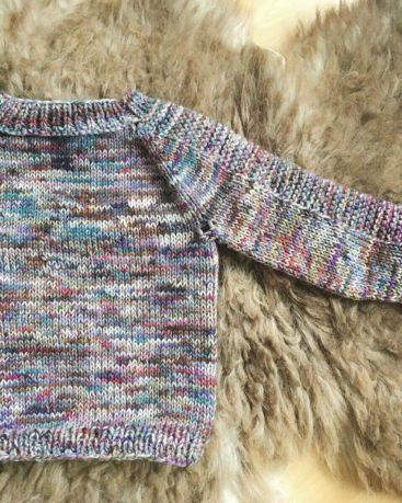 Heel fijn breipatroon voor een kindertrui: flax van TinCanKnits