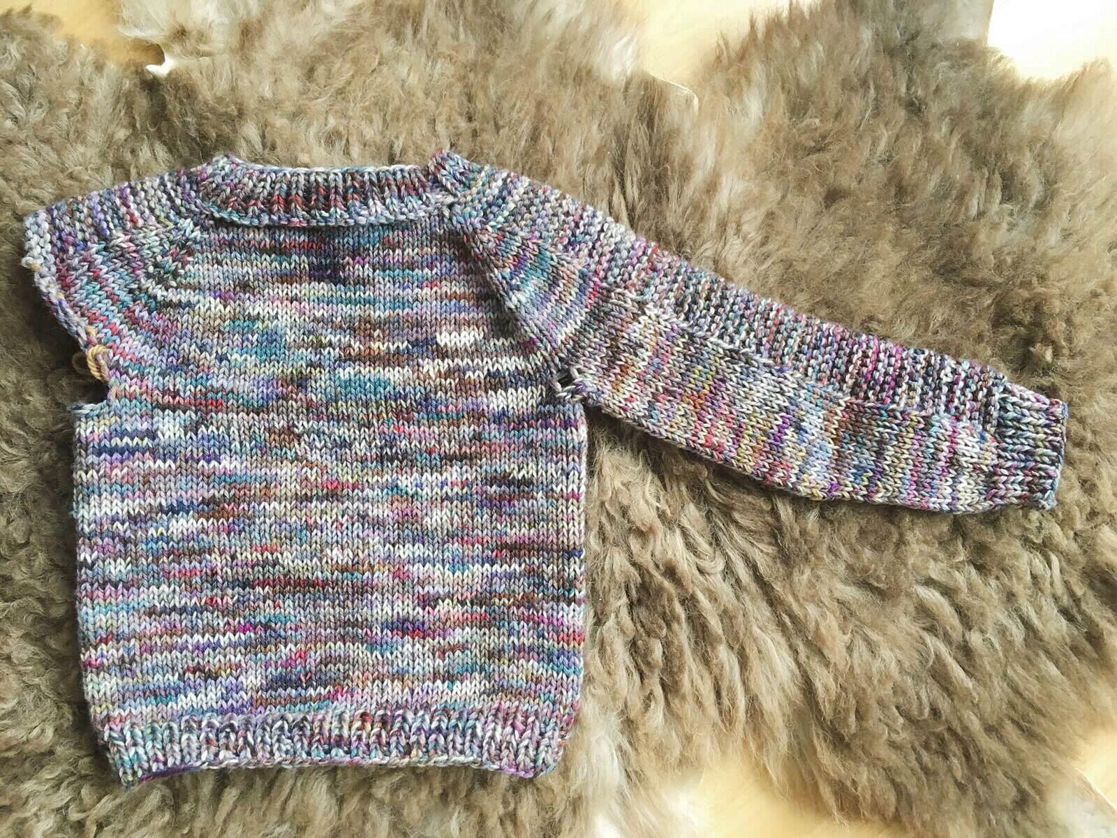 flax breipatroon kinder trui