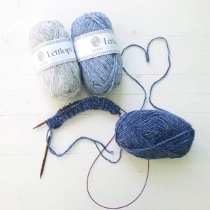 breien met Léttlopi Lett Lopi IJslandse wol