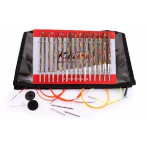 knitpro symfonie houten verwisselbare naaldpunten deluxe set