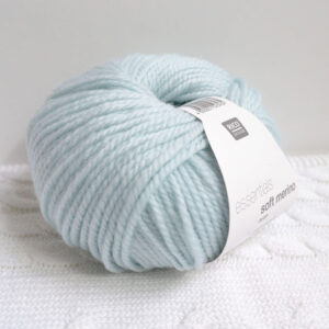 Rico Essentials soft merino aran mint wol